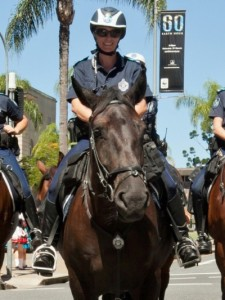 geronimo police horse